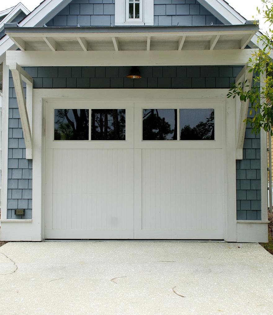 One-of-a-king garage doors, traditonal, fiberglass