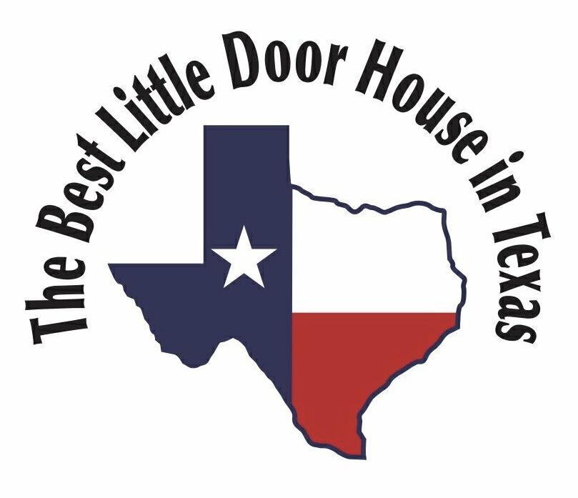 THe Best little door house in Texas