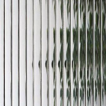 Reeded doors, windows