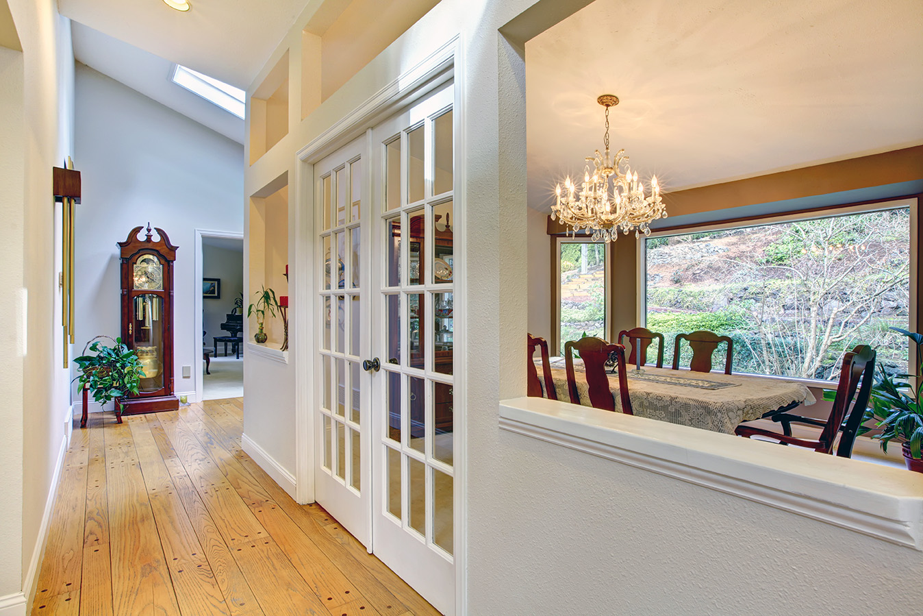 Sophisticated Interior French Doors Let Cambridge add Style and Functionality to your Home.