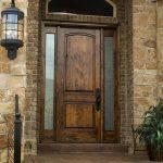wood entry doors houston