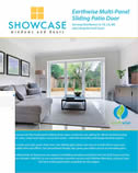 Patio door options by Showcase carried by Cambridge