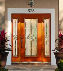 Radiant Texas Star Full View Door & Sidelights