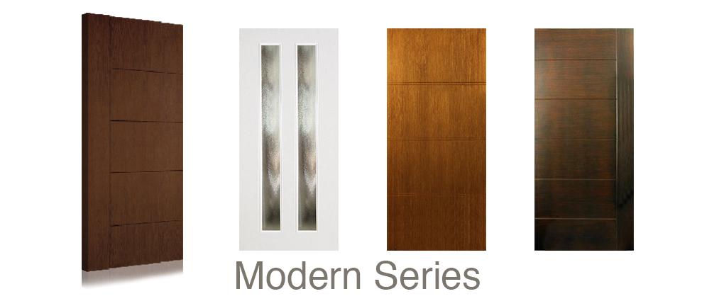 Modern Fiberglass doors
