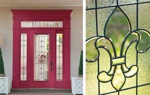 "St. Charles Glass with Fiberglass 6'-8"" Door & Sidelights"