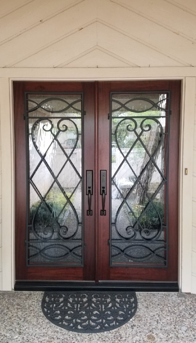 Custom Designed Doors and Complete Custom Entryway Systems...leaded glass