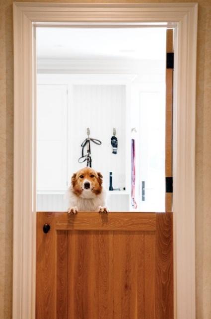 Dutch Doors good for pet owners