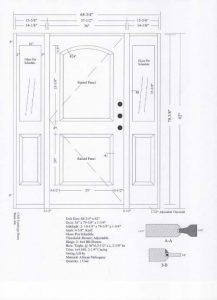 Custom Made Wood Door design