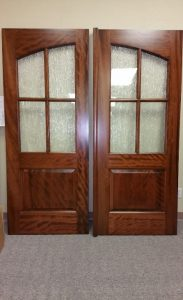 Custom Arched 4 Lite Doors