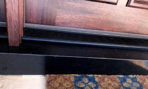 Bronze Threshold &Custom Bent Sill Cover