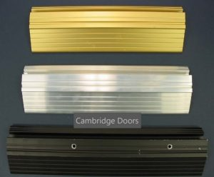 Extruded Aluminum Fixed Thresholds for Wood Doors