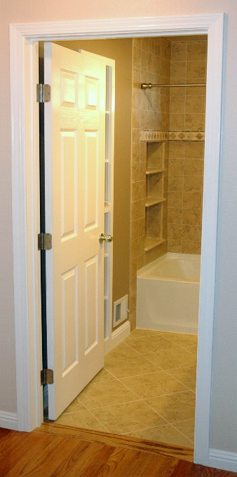 "36"" Wide ADA Compliant Bathroom Door"