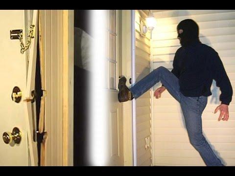 Intruder Kicking in door