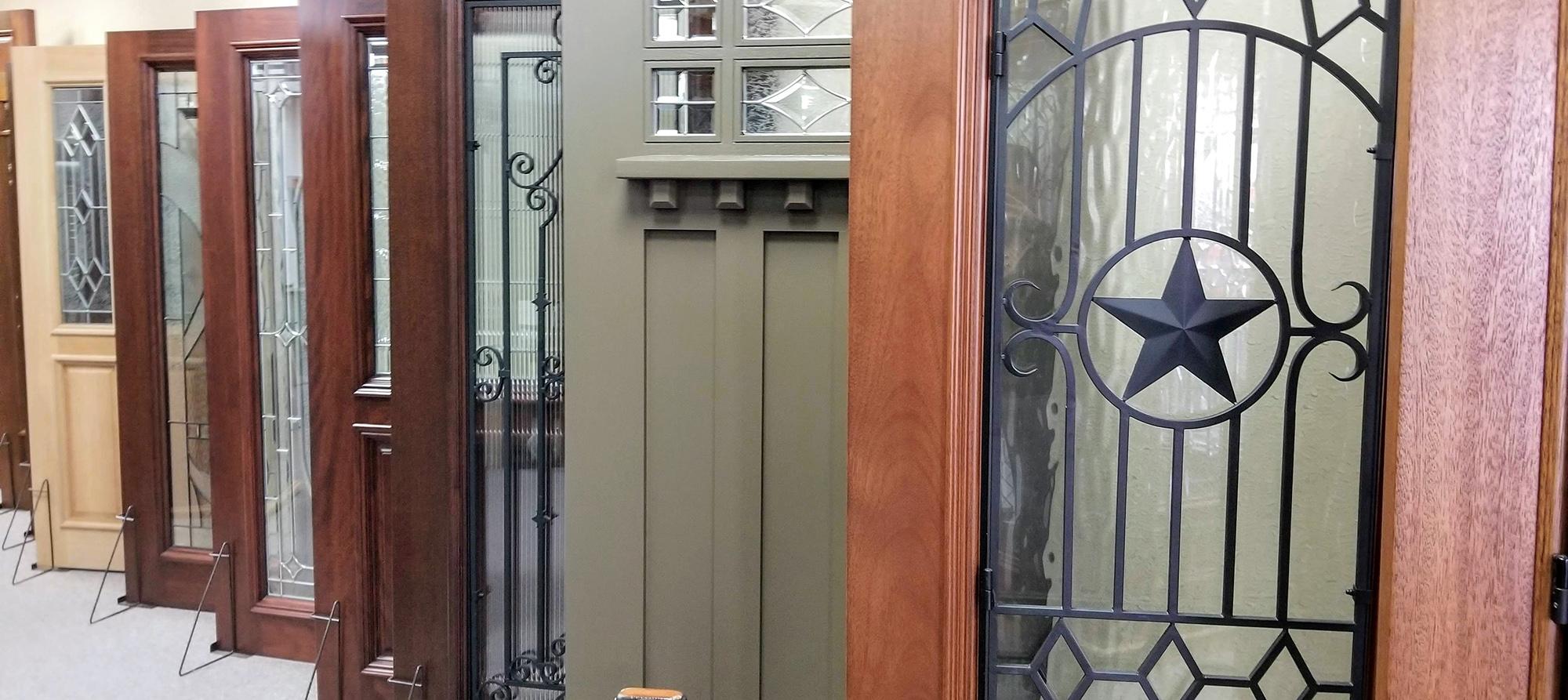 Wood Entry doors by Cambridge
