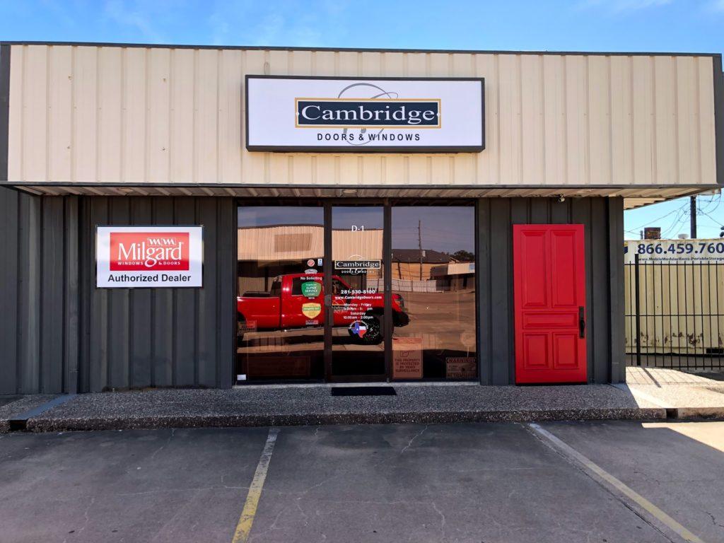 Cambridge Doors and WIndows Stafford Showroom