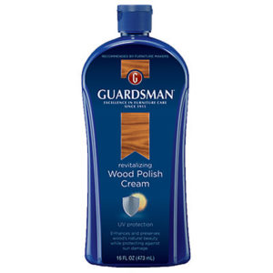 Cambridge recommends Guardsman Wood polish