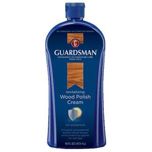 Cambridge recommends Guardsman Wood polish